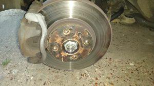 Old Brake Disc